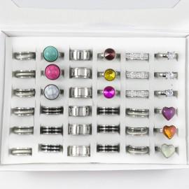 Combo anillos de Acero 2